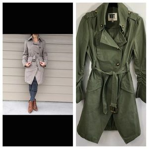 Kut From The Kloth Asymmetrical Trench Coat